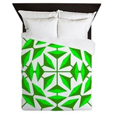 Eclectic Flower 133A Queen Duvet