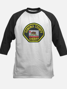 Sonoma County Sheriff Kids Baseball Jersey