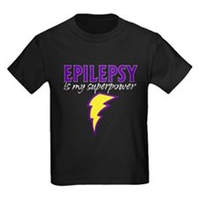 Epilepsy is my superpower Lightning T-Shirt