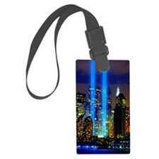 911 Twin Towers Luggage Tag
