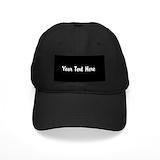 Custom with logo Black Hat