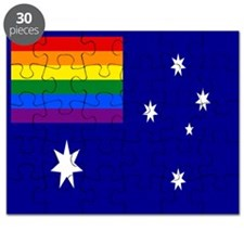 Rainbow Pride Australian Flag Puzzle