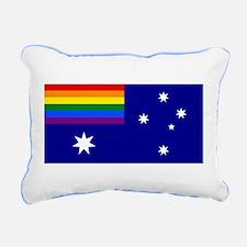 Rainbow Pride Australian Flag Rectangular Canvas P