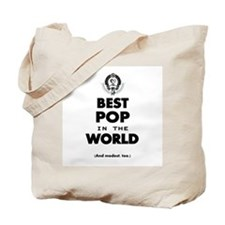 The Best in the World Best Pop Tote Bag