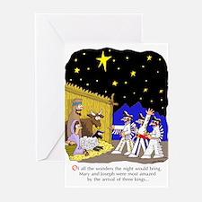 3 Kings Greeting Cards