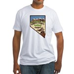 Eureka County Sheriff Fitted T-Shirt