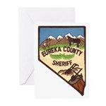 Eureka County Sheriff Greeting Cards (Pk of 10