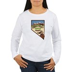 Eureka County Sheriff Women's Long Sleeve T-Shirt