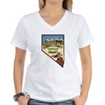 Eureka County Sheriff Women's V-Neck T-Shirt