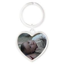 eric Heart Keychain