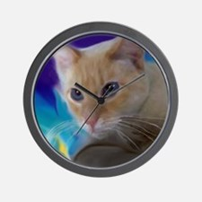 Cool Flame point siamese cat Wall Clock