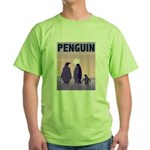 Penguin Family Green T-Shirt