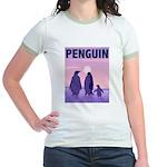 Penguin Family Jr. Ringer T-Shirt