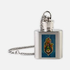 The hand Flask Necklace
