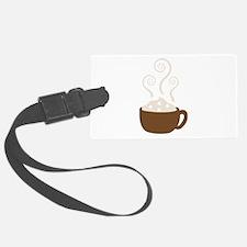 Hot Chocolate Luggage Tag