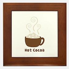 Hot Cocoa Framed Tile