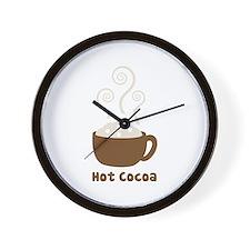 Hot Cocoa Wall Clock