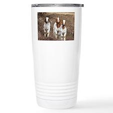 Smiling goats Travel Mug