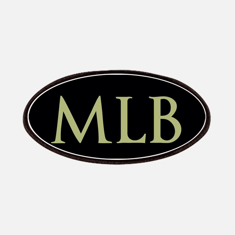 Monogram in Large Letters Patches