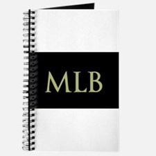 Monogram in Large Letters Journal