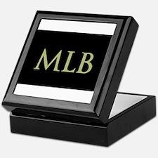 Monogram in Large Letters Keepsake Box