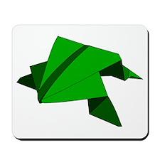 Origami Frog Mousepad