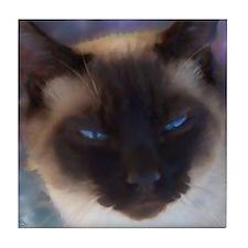 Cute Cat lovers Tile Coaster