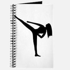 Karate Silhouette Journal