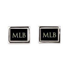 Monogram in Large Letters Cufflinks