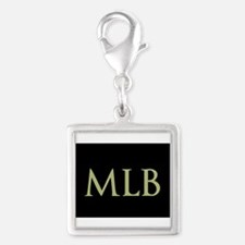 Monogram in Large Letters Charms