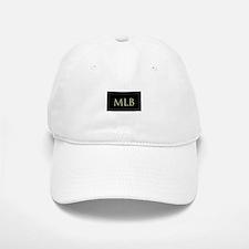 Monogram in Large Letters Baseball Baseball Baseball Cap