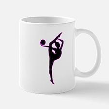 Rhythmic Gymnastics Silhouette Mugs