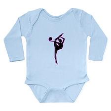 Rhythmic Gymnastics Silhouette Body Suit