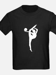 Rhythmic Gymnastics Silhouette T-Shirt