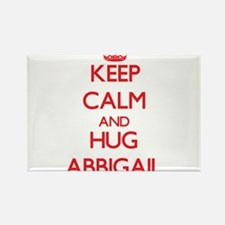 Keep Calm and Hug Abbigail Magnets