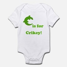 C is for Crikey! Onesie