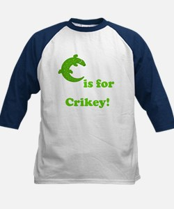 C is for Crikey! Kids Baseball Jersey