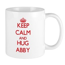 Keep Calm and Hug Abby Mugs