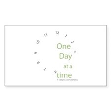 One Day at a Time Decal