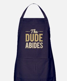 The Dude Abides Apron (dark)