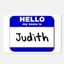 hello my name is judith  Postcards (Package of 8)