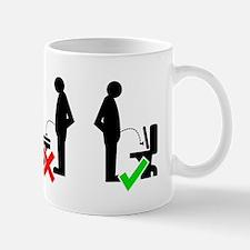 Seat Up Mugs