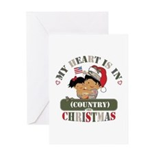 Christmas Soldier Dad/Mom Greeting Card