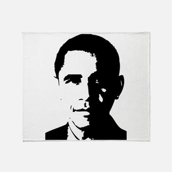 Barack Obama Throw Blanket