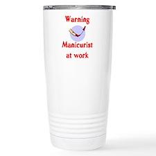 Cool Nail tech Travel Mug