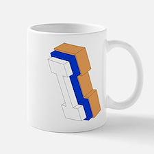 ORANGE BLUE I BOX Mugs