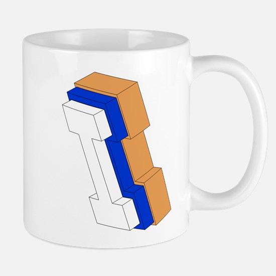 ORANGE BLUE I BOX Mugs