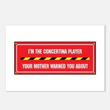 I'm the Concertina Player Postcards (Package of 8)