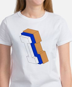 ORANGE BLUE I BOX T-Shirt