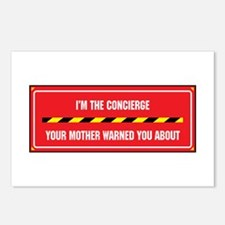 I'm the Concierge Postcards (Package of 8)